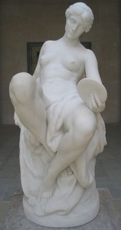 """Memory"" - Sculpture by Daniel Chester French"