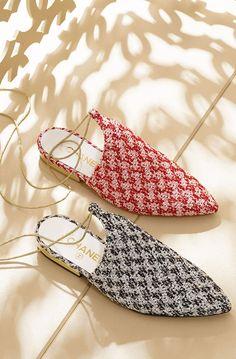 Chanel-Glitter-Tweed-Slippers-3