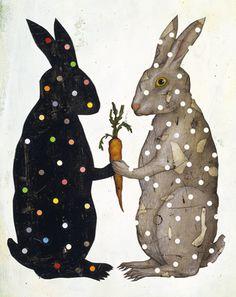 Illustration - illustration - bloomberg by Jason Holley. illustration : – Picture : – Description bloomberg by Jason Holley -Read More – Art And Illustration, Rabbit Illustration, Lapin Art, Art Beauté, Rabbit Art, Bunny Art, Ouvrages D'art, Art Plastique, Belle Photo