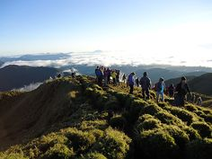 Story of the Week Nature at its Best: Series 10 - Mt Pulag's Sea of Clouds (photo) the summit - mt pulag by Rey mos