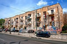 The historical refugee buildings in Alexandras Avenue, part of the architectural heritage of the country, are set to be auctioned.