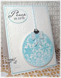 Dazzling Peace on Earth by glowbug - Cards and Paper Crafts at Splitcoaststampers