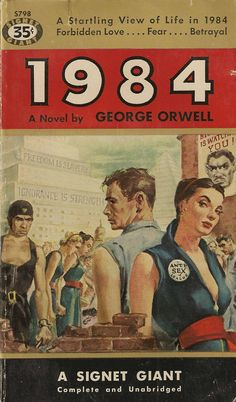 1984   Orwell gets a pulp makeover