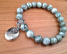 Inspiration Bracelet Be Yourself by LarisJewelryDesigns on Etsy