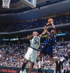 37b305a9a NBA on ESPN  Paul Pierce s NBA debut - February 1999 📸 (featuring fellow  rookie Vince Carter)