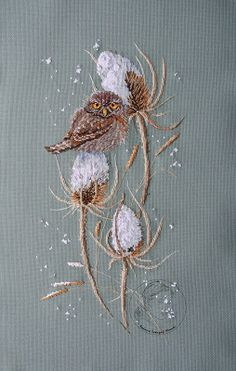 Radosna twórczość Weronki: Passerine Owl - 3 - KONIEC