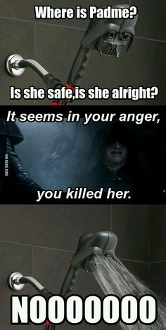 Where is Padme ?