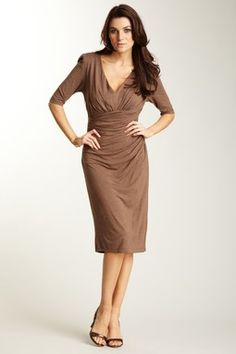 Suzi Chin dress. It will hide all your trouble spots!