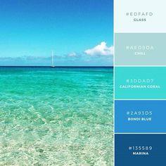 색깔 조합 어려워하는 사람들이 참고하면 좋은 색조합.jpg | 인스티즈