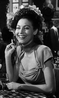 """nitratediva: """"Ava Gardner in The Killers (1946). """""""