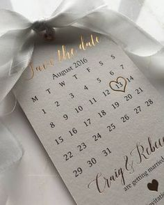 "1,437 Likes, 77 Comments - @down.the.aisle on Instagram: ""Obsessed with these Rose Gold Save the Date Tags by @SilkBeau  #savethedate #savethedates…"""