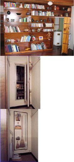 Hidden Storage and Secret Compartments