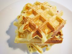 Waffles de Requeijão