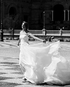 """When the only thing left to do is celebrate. """"Today seems like it's the start of a new journey. But I already belong to you. It feels like we're finally going home.""""  Dressing Dreams.  #couture #delavida #delavidabride #pronovias #2018"""