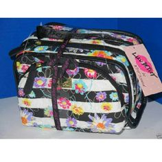 Betsey Johnson 2pc Cosmetic Luv Betsey by Betsey Johnson White and Black Quilted 2pc makeup bag cosmetic. Betsey Johnson Bags Cosmetic Bags & Cases