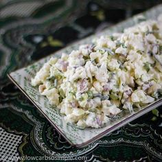 Crrrrrunch! If you love some texture and crunch in your salad, then this super crunchy salad is sure to please you and your palate. This rich low-carb salad is a great alternative to potato salad. …