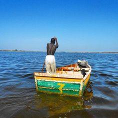 Beloved Continent --- Lac Rose, Senegal