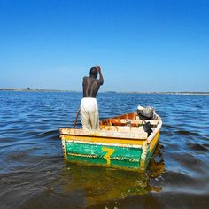 Beloved Continent --- Lac Rose, Senegal