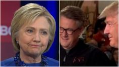 The Hillary Clinton campaign stopped a Trump lie and a Trump enabler dead in their tracks by forcing Joe Scarborough to correct a lie that Trump uttered during a Morning Joe interview on the air.