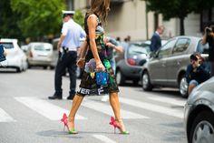Spring street trend 2015 men, women | Milan Men's Fashion Week Spring 2015 -