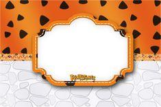 Convite, Moldura e Cartão Os Flintstones: