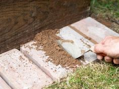 Use Mortar Between Gaps in Bricks