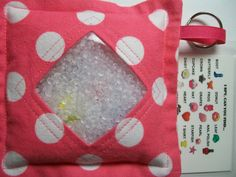 I Spy Bag Pink Polka Dots Girls themed contents I Spy by JanetR