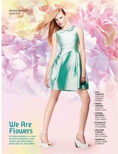 """A revista que é lançada 2 vezes ao ano traz como diferencial nessa temporada 4 capas diferentes com o tema """"We Are Flowers"""""""