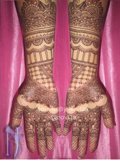full henna design by Novi3a #henna #hennagorontalo #henna indonesia