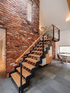Escadas de ferro - veja modelos modernos e lindos! - DecorSalteado