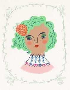 Jade Girl - Sarah Walsh - Lilla Rogers Studio