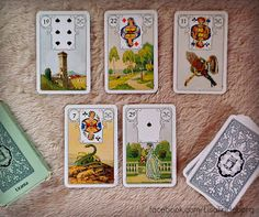 Taking the quint of your daily 3 card Lenormand practice draw.