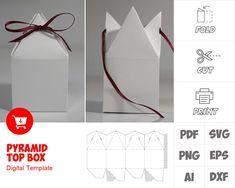 Box Templates Printable Free, Paper Box Template, Origami Templates, Printable Paper, Paper Gifts, Diy Paper, Paper Art, Diy Gift Box, Gift Boxes