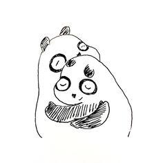 【一日一大熊猫】2016.11.5 語呂合わせ「いいご縁」で縁結びの日らしいよ。 #パンダ #ご縁 #縁結び