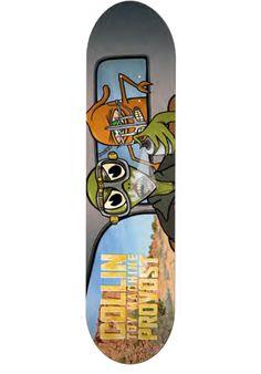 Toy-Machine Provost-WarTurtle - titus-shop.com #Deck #Skateboard #titus…