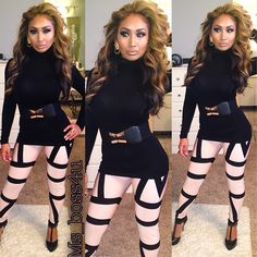 .I love the outfit hair & makeup..