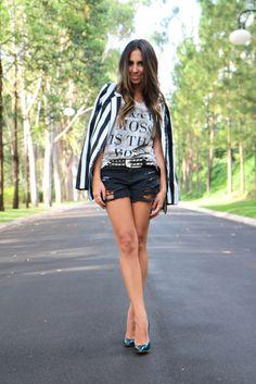 Black Shorts - Inspiration