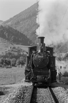 Typ G 3/4, Nr. 11 Heidi, Seewis-Valzeina, 1967 Trains, Train