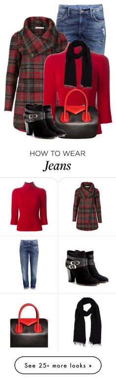 """Boyfriend Jeans"" by tammynky on Polyvore featuring H&M, Dolce&Gabbana, Blue Les Copains, Givenchy, Jimmy Choo and boyfriend"
