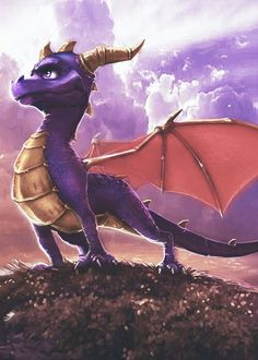 Spyro concept art for the most recent series (NOT that crap Skylanders)