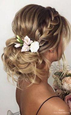 Elstile Wedding Hairstyles for Long Hair / www.deerpearlflow