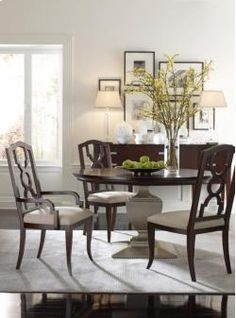 Orion Round Dining Table by Highland House