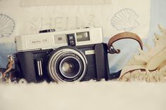 I really want a vintage camera like this!