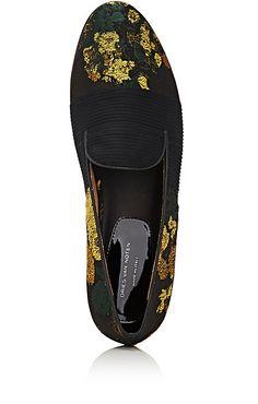 Dries Van Noten Floral Jacquard Loafers - Flats - 504972512