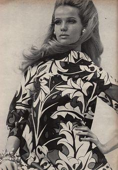 Veruschka in Frank Adams. Vogue - March 15th, 1967. Photographed by Franco Rubartelli