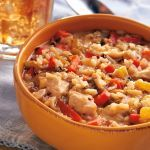 Not knocking chicken noodle soup, but sometimes it is fun to change things up when you're crockin'! We love this recipe because here in Texas we have a limited time frame to comfortably curl up to a nice steaming bowl of hearty stew or soup. They are so simple to crock we hate to miss out on the ease of this type of recipe.      Used 6-quart slow cooker    Submitted by Michelle Devine