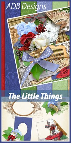 The Little Things can make a huge difference in our lives.   ADB Designs has a new digital scrapbooking  Mixology collection that is perfect to scrap those little moments.