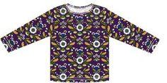 Tricot longsleeve in maat 80 t/m 146. Een eenvoudig t-shirt om te naaien, omdat boordstof en knoopjes achterwege blij...