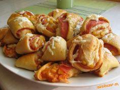 Pizza rožky/trojuholníčky