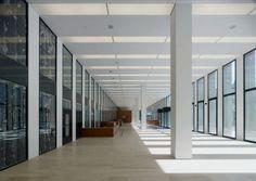 Max Dudler - Berlin, Germany - Jacob und Wilhelm Grimm Zentrum,  main library of Humboldt-Universität zu Berlin